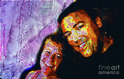 Mixed Media - Couple by Alene Sirott-Cope