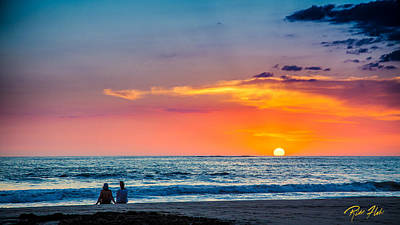 Photograph - Couple At Sunset by Rikk Flohr