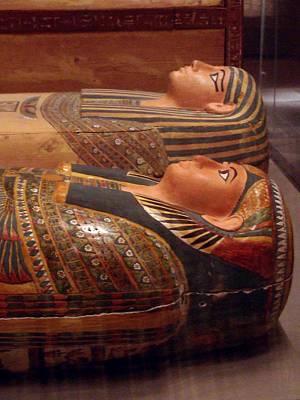 Couple Of Sarcophagi Art Print