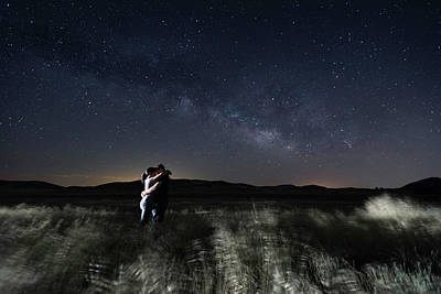 Photograph - Couple Under The Stars by Scott Cunningham