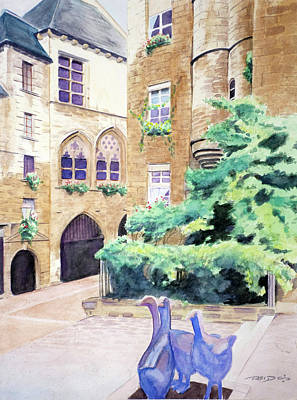 Painting - Cour D'oie by Christopher Reid