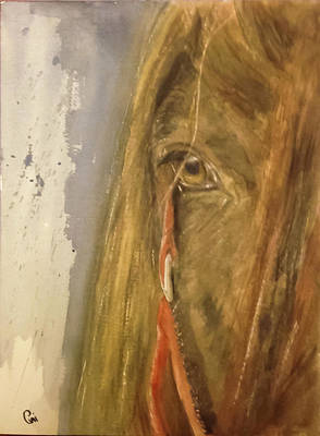 Painting - Courage by Annie Poitras