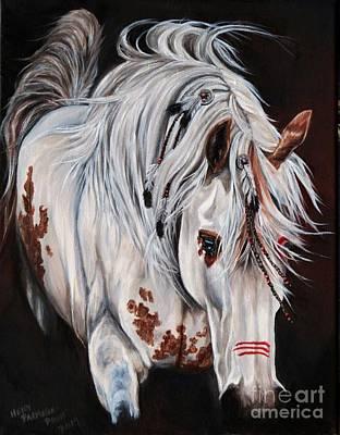 Painting - Courage by Heidi Parmelee-Pratt