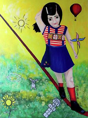 Mixed Media - Courage by Sandra Rincon
