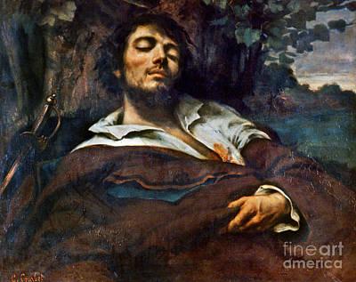 Photograph - Courbet: Self-portrait by Granger