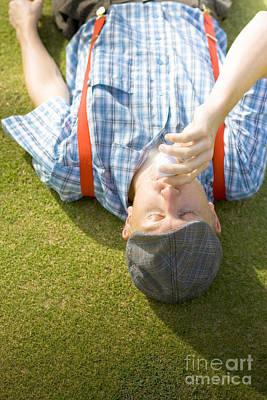 Smooch Photograph - Course Of Golf Romance by Jorgo Photography - Wall Art Gallery