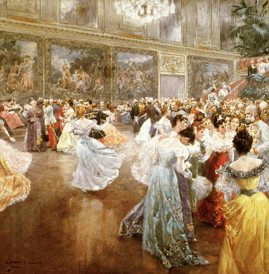 Painting - Court Ball At The Hofburg by Granger