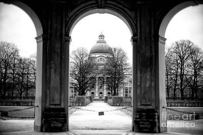 Photograph - Court Garden by John Rizzuto