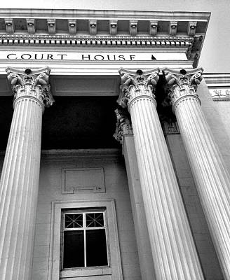 Photograph - Court House by Alexis Lee Scott