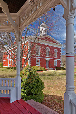 Photograph - Court House In Ironton by Robert Charity