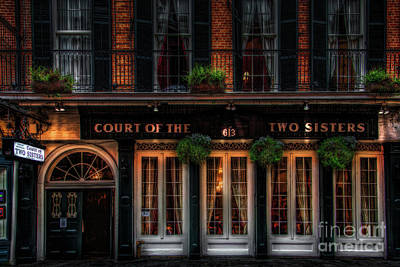 Photograph - Court Of The Two Sisters by Jarrod Erbe