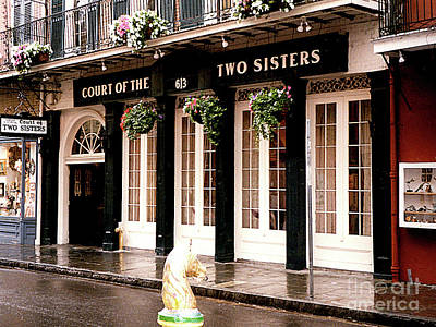 Photograph - Court Of The Two Sisters - New Orleans, La by Merton Allen