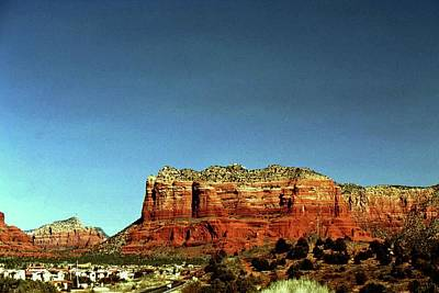 Photograph - Courthouse Butte by Gary Wonning