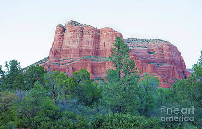 Courthouse Butte, Sedona, Az Art Print by Felix Lai