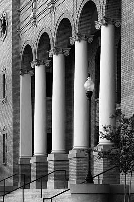 Photograph - Courthouse Columns by Richard Rizzo