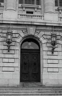 Photograph - Courthouse Door by Michiale Schneider