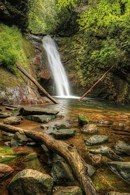 Photograph - Courthouse Falls by Carol Montoya