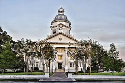 Photograph - Courthouse In Moultrie by Jan Amiss Photography