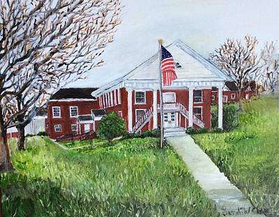 Painting - Courthouse by Linda Clark
