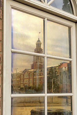 Photograph - Courthouse Reflection by Sharon Popek