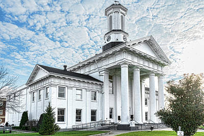 Photograph - Courthouse Richmond Kentucky by Sharon Popek