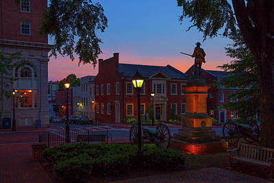 Wall Art - Photograph - Courthouse Square by Cliff Middlebrook