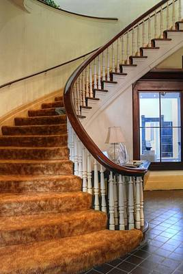 Photograph - Courthouse Staircase by David Bearden