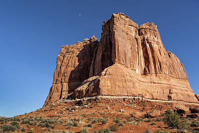 Photograph - Courthouse Towers - Arches National Park by Belinda Greb