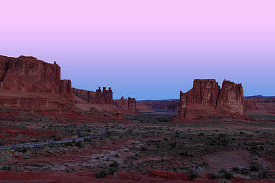 Photograph - Courthouse Towers At Dawn by Marie Leslie