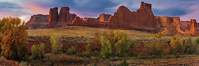 Photograph - Courthouse Wash - Arches Np by Expressive Landscapes Fine Art Photography by Thom