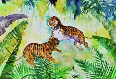 Courting Tigers. Original