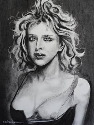 Drawing - Courtney Love Of Hole by Carla Carson
