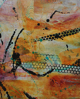 Art Print featuring the painting Courtship 3 by Kate Word