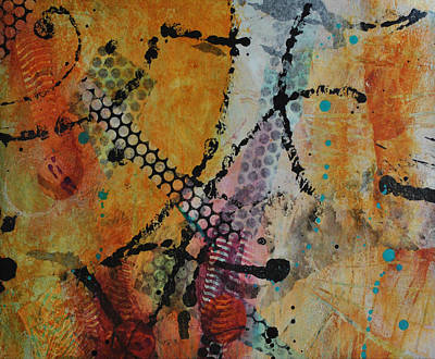 Art Print featuring the painting Courtship 4 by Kate Word