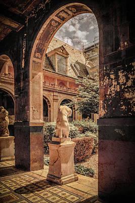 Photograph - Paris, France - Courtyard East - L'ecole Des Beaux-arts by Mark Forte