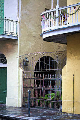 Photograph - Courtyard Entrance French Quarter by Kathleen K Parker