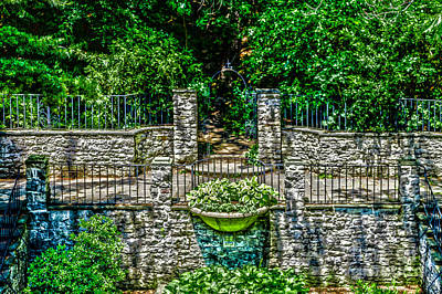 Photograph - Courtyard Entrance by William Norton