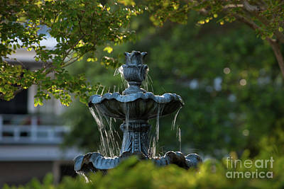Photograph - Courtyard Fountain by Dale Powell
