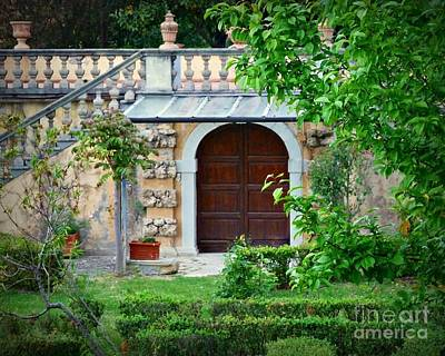Photograph - Monastery Courtyard by Patricia Strand