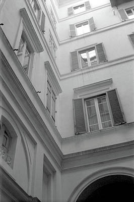 Photograph - Courtyard In Rome by Nacho Vega