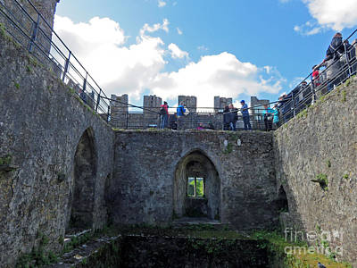 Photograph - Courtyard Of Blarney Castle by Cindy Murphy - NightVisions