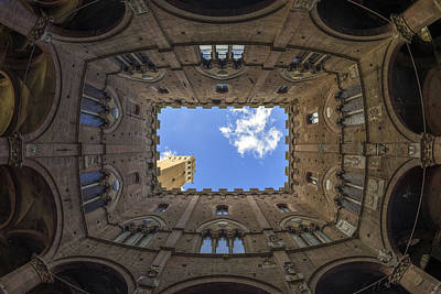 Toscana Photograph - Courtyard Of The Podesta by Michele Chiroli