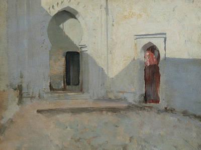 Painting - Courtyard, Tetuan, Morocco by John Singer Sargent