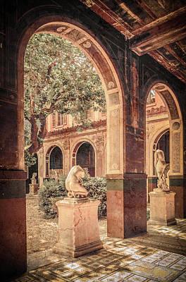 Photograph - Paris, France - Courtyard West - L'ecole Des Beaux-arts by Mark Forte