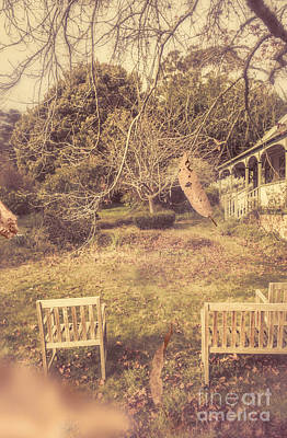 Courtyards Of Autumn Romance Art Print by Jorgo Photography - Wall Art Gallery