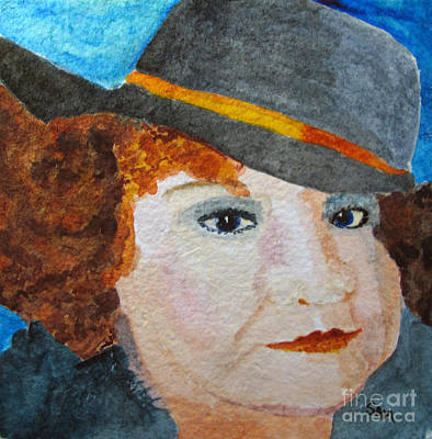 Painting - Cousin Jo by Sandy McIntire