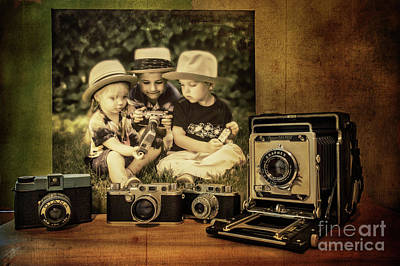Photograph - Cousins And Cameras by John Anderson