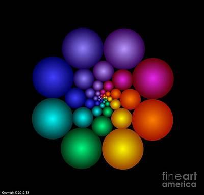 Covalent 8 Art Print