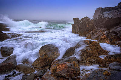 Bailey Island Photograph - Cove At Giant's Stairs by Rick Berk