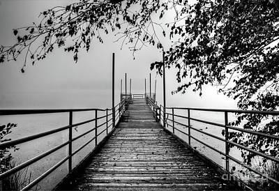Photograph - Cove Lake Fishing Pier by Douglas Stucky
